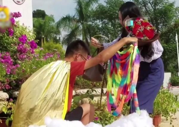 TQ: Chàng trai đạp gió cưỡi mây đến tỏ tình với cô gái thầm yêu 4 năm-4