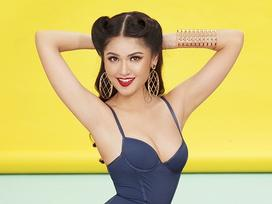Thùy Dung khoe hình thể gợi cảm trước ngày lên đường dự thi Hoa hậu Quốc tế 2017