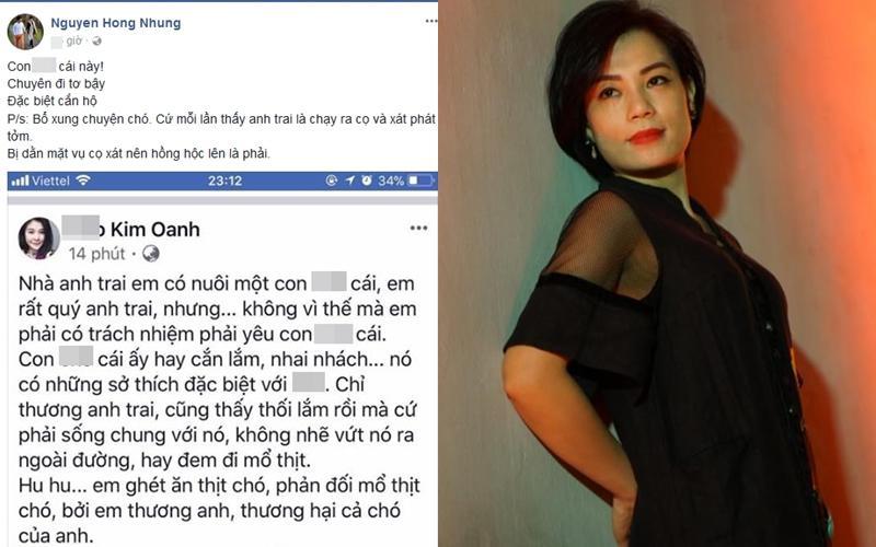 Chửi xéo chuyện con chó, bà xã Xuân Bắc công khai khẩu chiến với diễn viên Kim Oanh-1