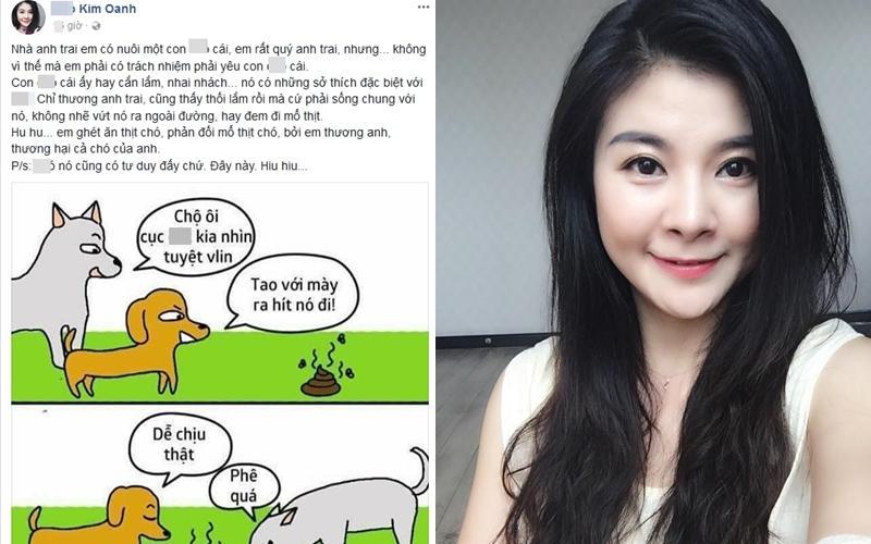 Chửi xéo chuyện con chó, bà xã Xuân Bắc công khai khẩu chiến với diễn viên Kim Oanh-4