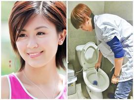 Hoa đán hàng đầu TVB sa cơ lỡ vận, đi dọn dẹp vệ sinh kiếm tiền nuôi con