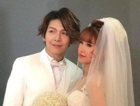 Lộ những tấm ảnh cưới đầu tiên của Khởi My và hôn phu kém 4 tuổi