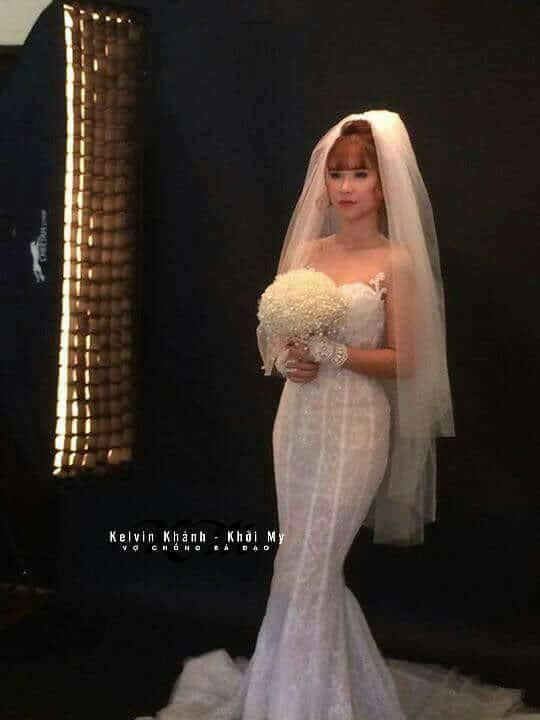 Lộ những tấm ảnh cưới đầu tiên của Khởi My và hôn phu kém 4 tuổi-5