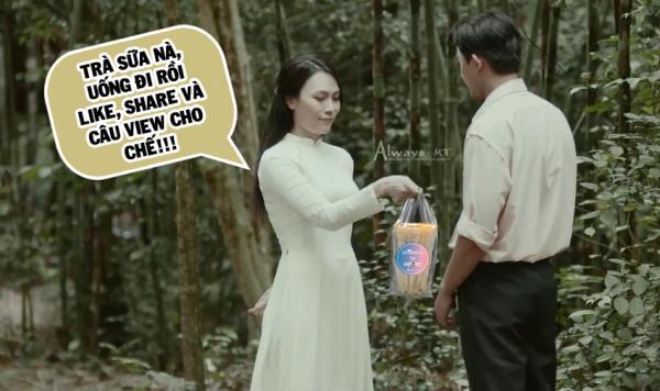 Cày view cho thần tượng bằng cách tặng trà sữa, fan Mỹ Tâm đúng là bá đạo nhất Vpop-1