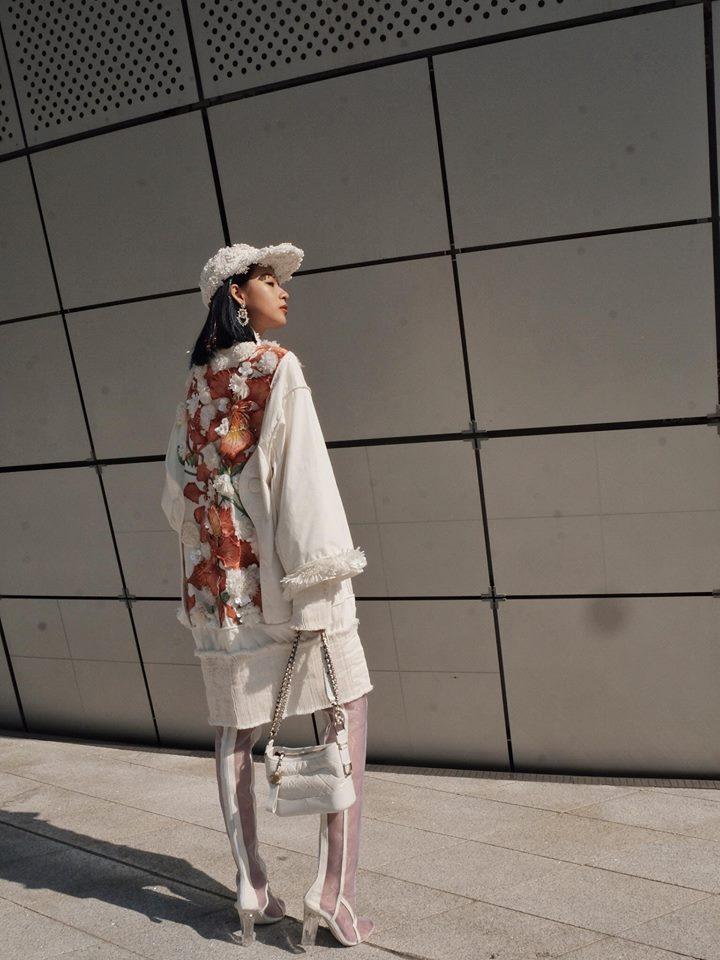 Phí Phương Anh - Hoàng Ku phá đảo Seoul Fashion Week ngày đầu xuất hiện-4