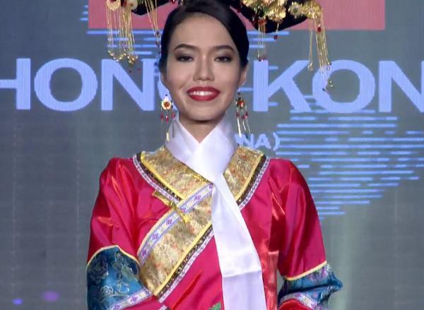Liên tiếp hài hước, Lan Khuê phiên bản lỗi trình diễn bikini như sắp ngã tại Hoa hậu Hòa Bình 2017-6