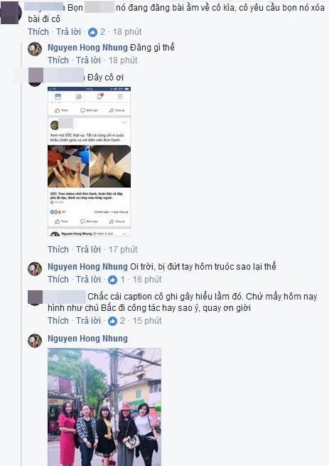 Bà xã Xuân Bắc bác thông tin bị chồng đánh chảy máu chỉ vì khẩu chiến chuyện con chó-5