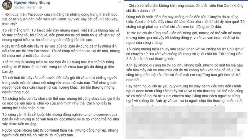 Bà xã Xuân Bắc nói về Kim Oanh: Trước mặt tôi sao cứ cọ vào chồng tôi như múa cột thế?-2