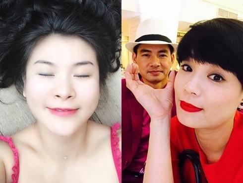 Bà xã Xuân Bắc nói về Kim Oanh: 'Trước mặt tôi sao cứ cọ vào chồng tôi như múa cột thế?'