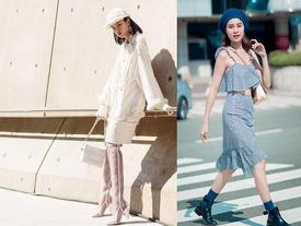 Ngày đầu Seoul Fashion Week: Tín đồ sành mốt chơi màu đơn sắc, hút vạn ánh nhìn!