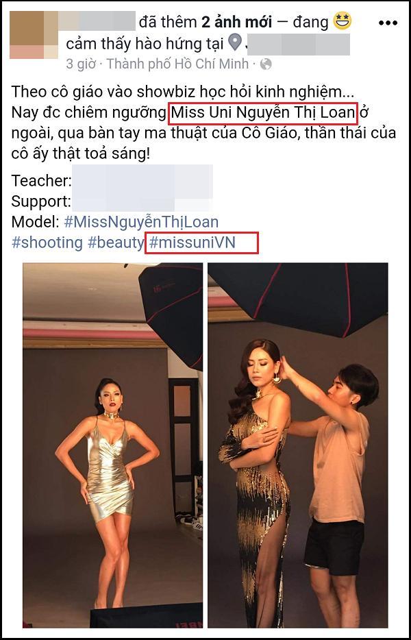 Hồ sơ dự thi Hoa hậu Hoàn vũ Thế giới của Nguyễn Thị Loan đã gửi tới Cục Nghệ thuật Biểu diễn-3