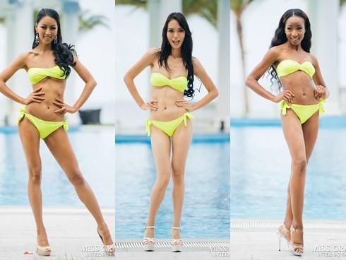 Top thí sinh 'không đùi to ngấn mỡ thì lại gầy trơ xương' ở Miss Grand International 2017