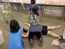 RÚNG ĐỘNG: Gã chồng trăng hoa sát hại vợ mang thai ngay trong siêu thị khiến nhiều người vạ lây