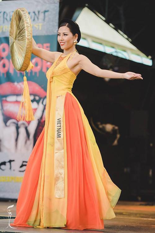 Được chọn thi Miss Universe 2017, Nguyễn Thị Loan lập nên kỷ lục chưa từng có-10