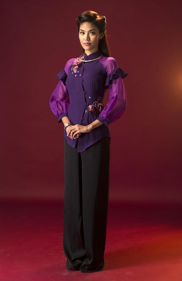 Đọc vị tính cách của 4 người phụ nữ trong Mẹ chồng thông qua áo bà ba-9