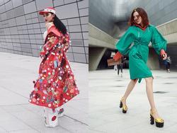 Châu Bùi - 'cô Ba' Lan Ngọc đại náo Seoul Fashion Week với style nổi loạn