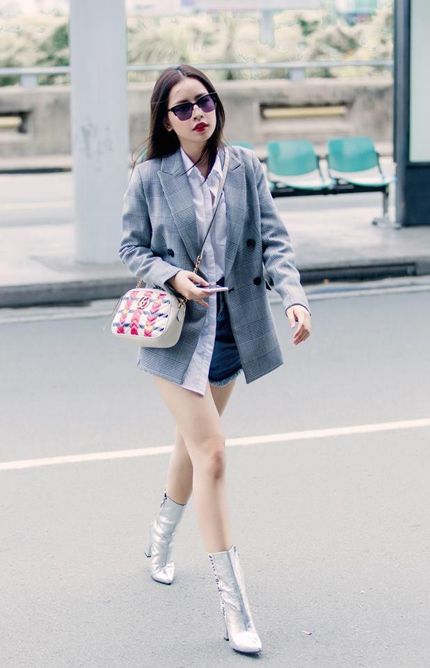 Street style sao Việt 20/10: Cùng dát hàng hiệu, dàn mỹ nhân Việt thanh lịch và đẳng cấp hút mắt người nhìn-1