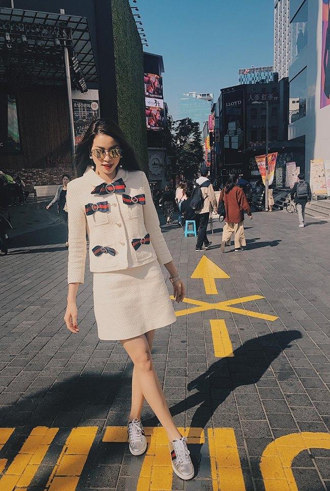 Street style sao Việt 20/10: Cùng dát hàng hiệu, dàn mỹ nhân Việt thanh lịch và đẳng cấp hút mắt người nhìn-8