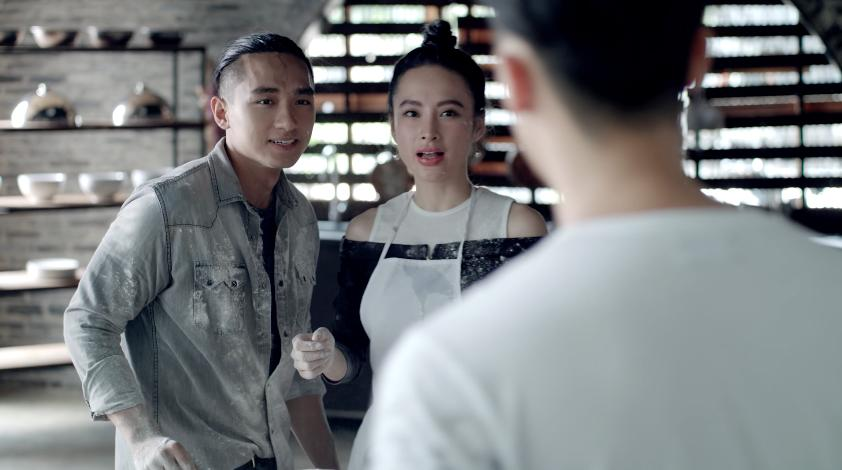 Glee: Bắt gặp Angela Phương Trinh tình tứ với Hữu Vi, Rocker Nguyễn lao vào đánh tình địch-2