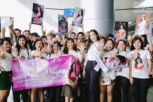 Hoa hậu Đỗ Mỹ Linh chính thức lên đường chinh phục Miss World 2017-3