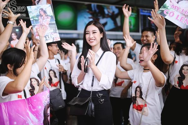 Hoa hậu Đỗ Mỹ Linh chính thức lên đường chinh phục Miss World 2017-4