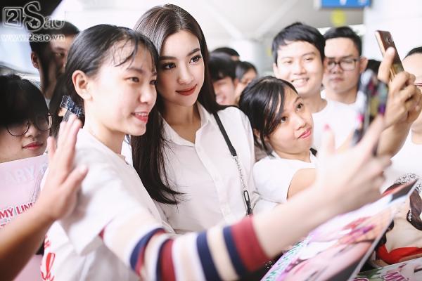 Hoa hậu Đỗ Mỹ Linh chính thức lên đường chinh phục Miss World 2017-5