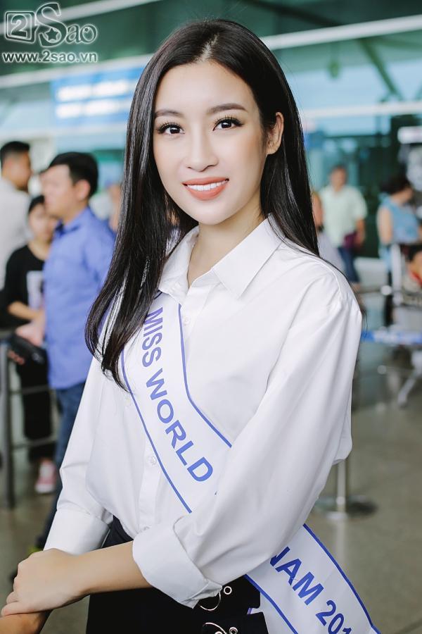 Hoa hậu Đỗ Mỹ Linh chính thức lên đường chinh phục Miss World 2017-8