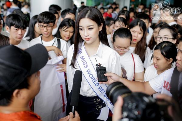 Hoa hậu Đỗ Mỹ Linh chính thức lên đường chinh phục Miss World 2017-9