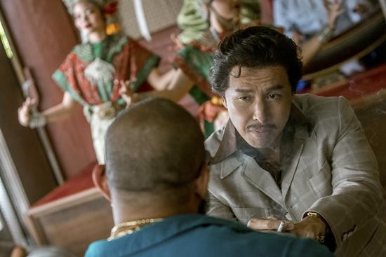 Ngôi sao võ thuật Chân Tử Đan gửi lời chào đến khán giả Việt-5