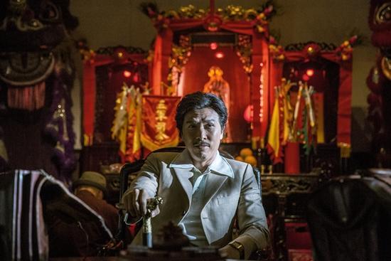 Ngôi sao võ thuật Chân Tử Đan gửi lời chào đến khán giả Việt-4
