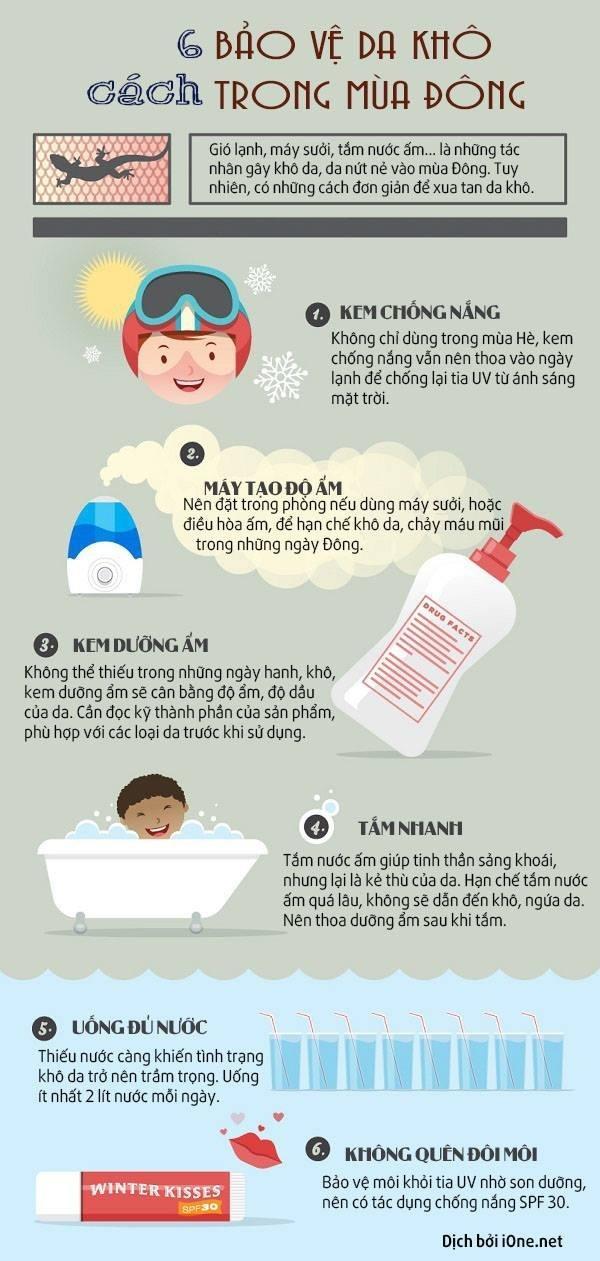 Hết lo da khóc thét vì khô nẻ ngày lạnh chỉ với 6 cách này-1