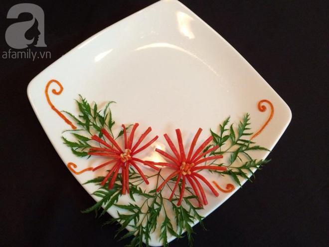 5 cách trang trí đĩa ăn siêu đẹp theo chủ đề hoa lá-1