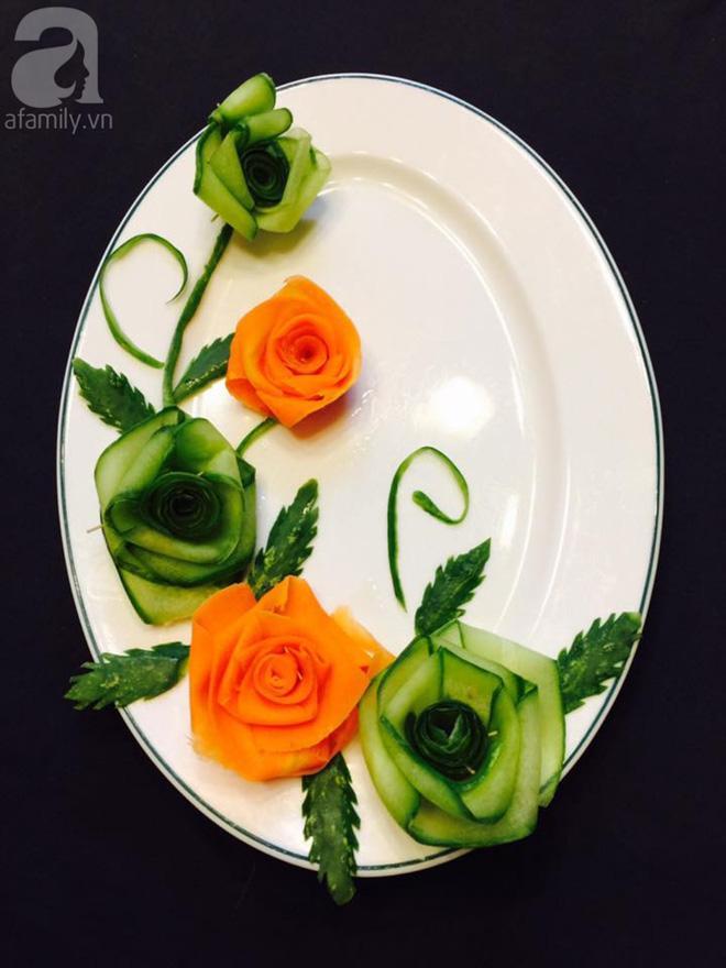 5 cách trang trí đĩa ăn siêu đẹp theo chủ đề hoa lá-2