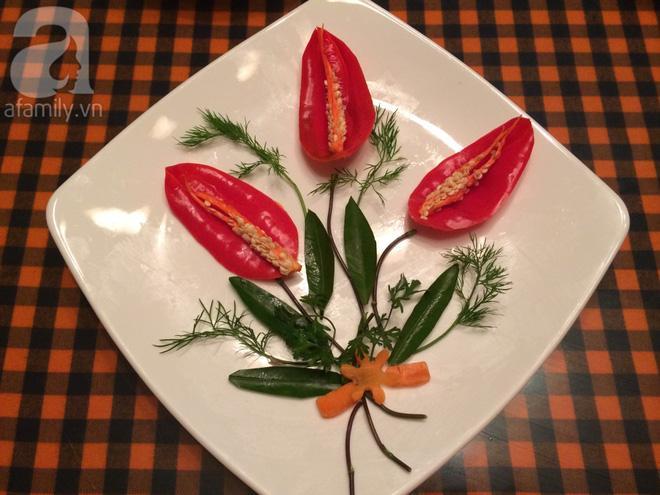 5 cách trang trí đĩa ăn siêu đẹp theo chủ đề hoa lá-4