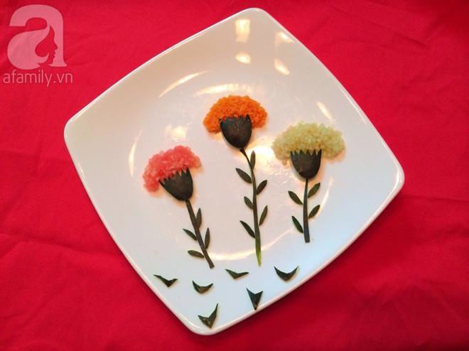 5 cách trang trí đĩa ăn siêu đẹp theo chủ đề hoa lá-5