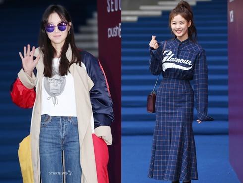 Gong Hyo Jin đầy khí chất, 'thiên thần' Kim Yoo Jung tỏa sáng bên loạt sao Hàn sành điệu tại Seoul Fashion Week