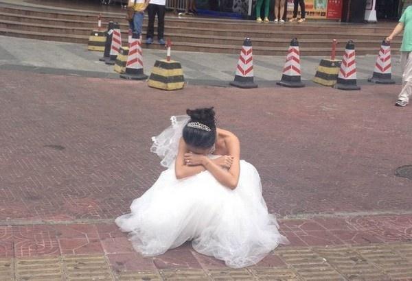 Cô gái bị chồng sắp cưới hạ nhục và đấm ngay tại studio khi đi chụp ảnh cưới-2