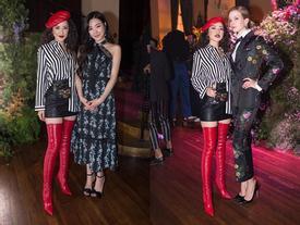 Chi Pu lạc tông với dàn sao thế giới trong sự kiện thời trang