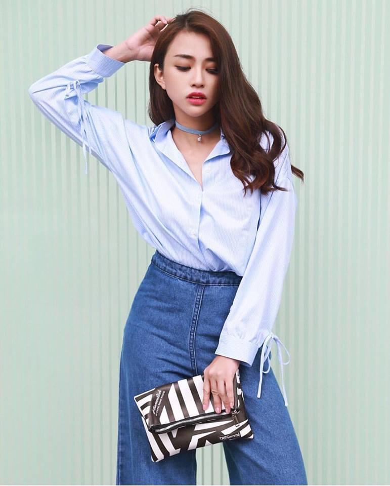 Dàn hot-face Việt diện áo ngắn cũn cỡn, khoe vòng 2 thon gọn trong street style tuần này-7