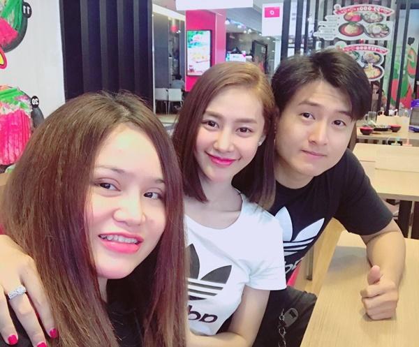 Hậu chia tay người yêu, Linh Chi tung tăng cùng em trai Lâm Vinh Hải-3
