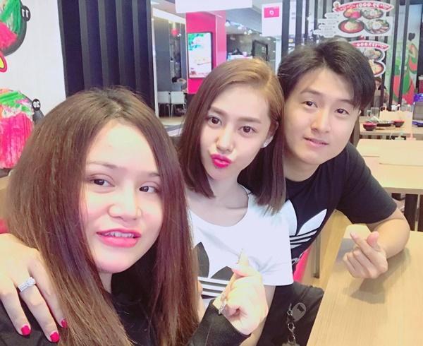 Hậu chia tay người yêu, Linh Chi tung tăng cùng em trai Lâm Vinh Hải-4