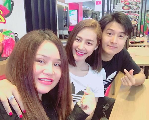 Hậu chia tay người yêu, Linh Chi tung tăng cùng em trai Lâm Vinh Hải-6