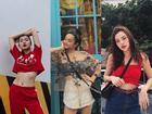 Dàn hot-face Việt diện áo ngắn cũn cỡn, khoe vòng 2 thon gọn trong street style tuần này