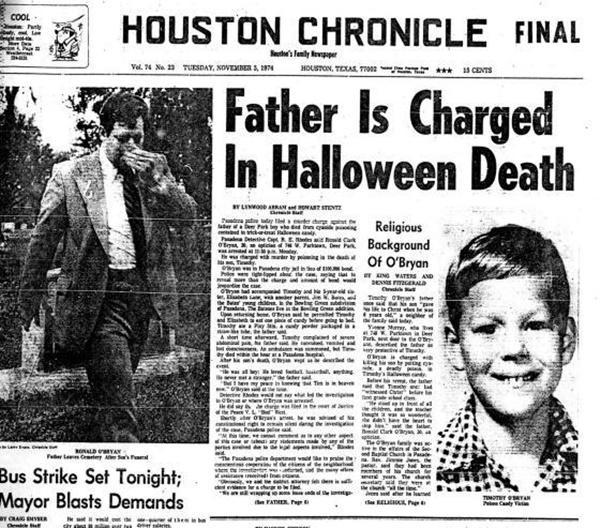 Đêm xin kẹo chết chóc: Vụ án mạng bố đầu độc con làm lịch sử Halloween hoàn toàn thay đổi-3
