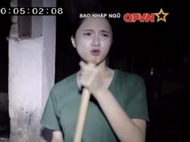 'Chết cười' khi xem Hương Giang Idol dọn chuồng lợn trong quân ngũ