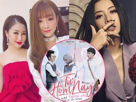 Yến Tatoo 'chơi lầy' khi tung MV nhạc chế kết hợp hit của Hương Tràm và Chi Pu