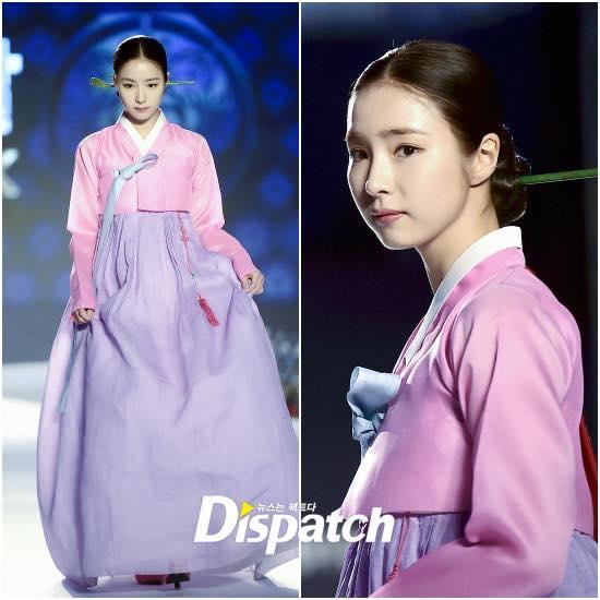 Sao Hàn 21/10: Mỹ nhân mặt đơ Shin Se Kyung khoe vẻ đẹp nữ thần với Hanbok-1