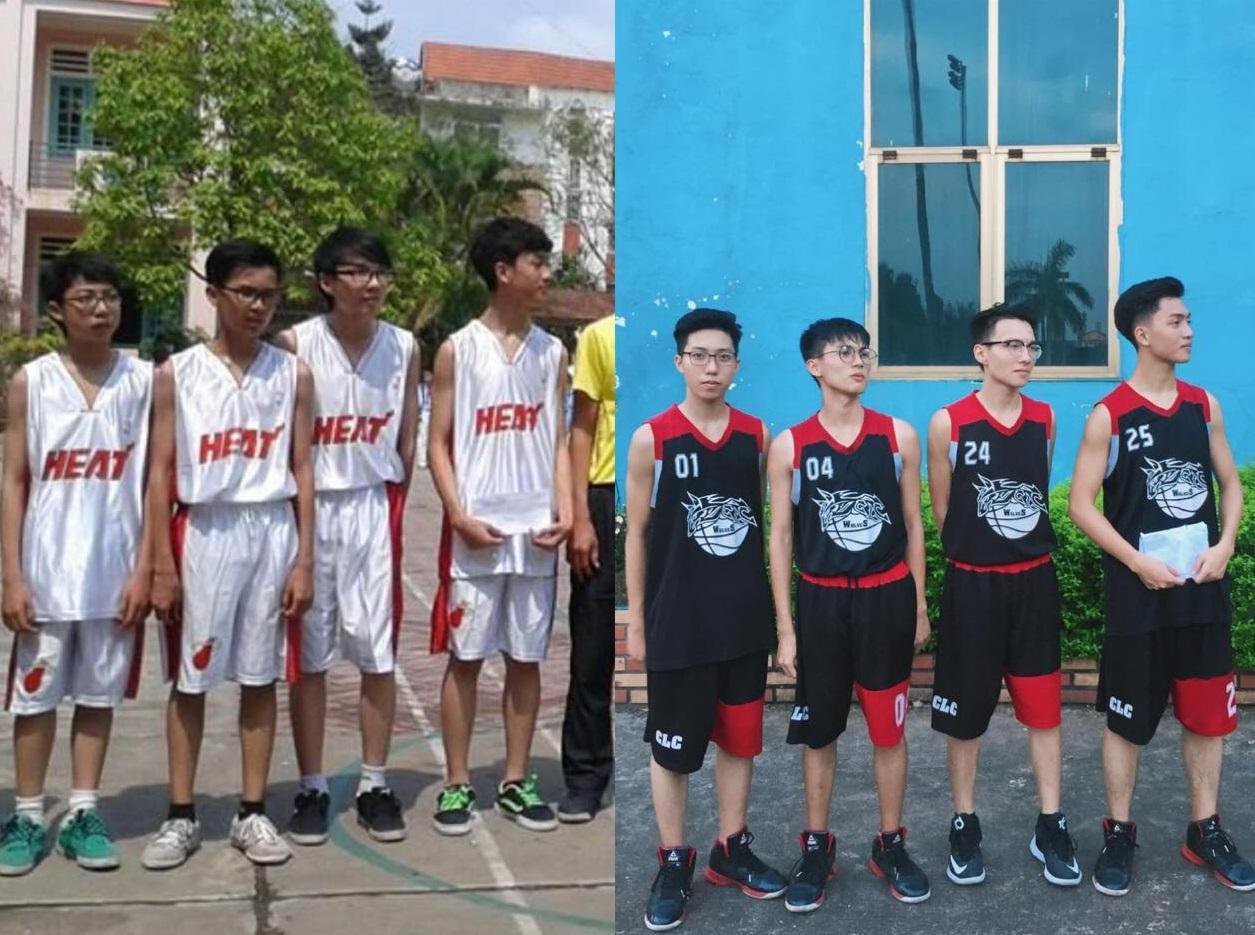 Vườn sao băng đời thực: Nữ sinh Lào Cai lọt thỏm giữa 4 chàng bạn thân đẹp trai, học giỏi, mê bóng rổ-4