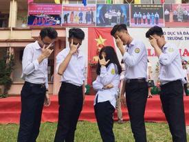 'Vườn sao băng' đời thực: Nữ sinh Lào Cai lọt thỏm giữa 4 chàng bạn thân đẹp trai, học giỏi, mê bóng rổ