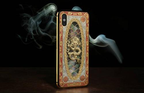 Nếu iPhone X chưa đủ ngầu, mua ngay iPhone X Legend nạm kim cương-1